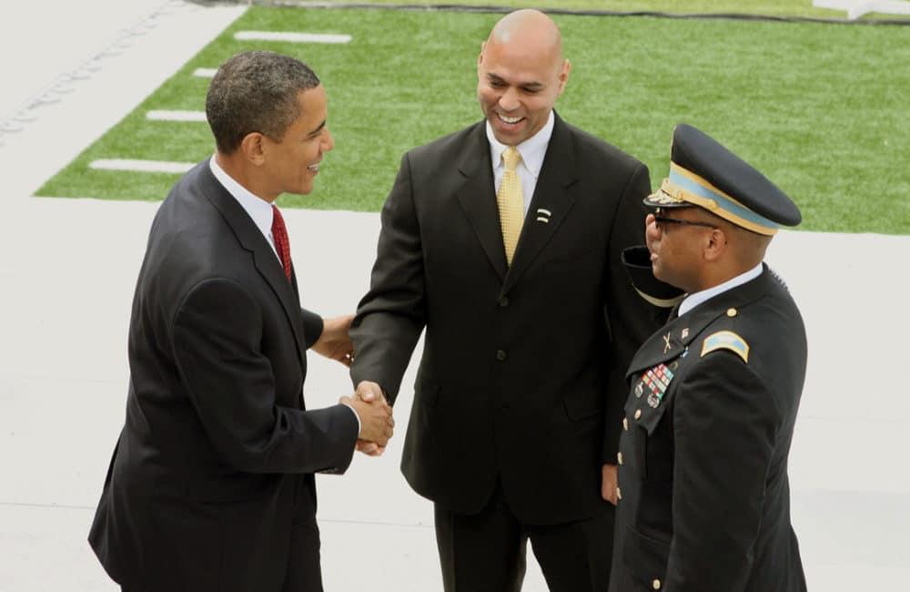Ray Jefferson with Barack Obama